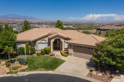 St George Single Family Home For Sale: 222 Golden Eagle Cir