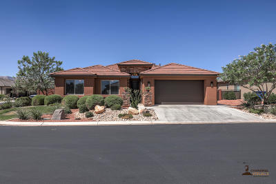 Ivins  Single Family Home For Sale: 366 S Chuckwalla Ln