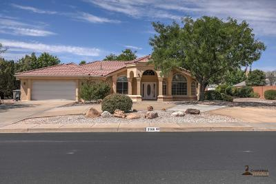 St George Single Family Home For Sale: 3566 S 1550 W