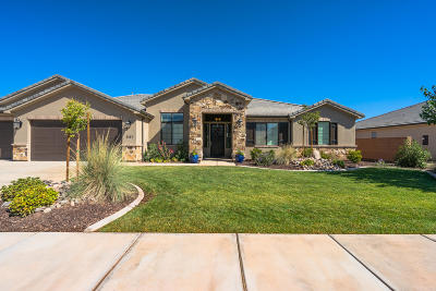 St George Single Family Home For Sale: 2157 E Pasture Dr