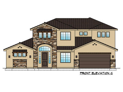 St George Single Family Home For Sale: Lot 118 2890 South