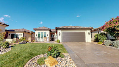 St George Single Family Home For Sale: 618 S Alienta Dr