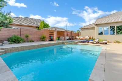 St George Single Family Home For Sale: 2524 E 2390 Cir S