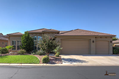St George UT Single Family Home For Sale: $569,900
