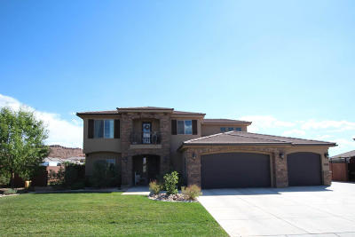 St George Single Family Home For Sale: 2948 E 3190 S