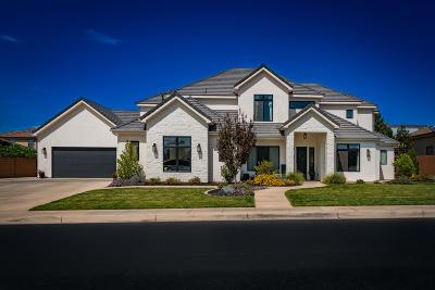 St George Single Family Home For Sale: 2489 E Crimson Ridge Dr