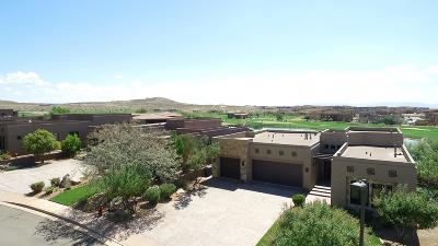 St George UT Single Family Home For Sale: $849,000