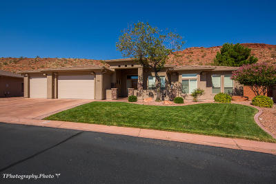 St George Single Family Home For Sale: 1737 N Palo Verde Dr