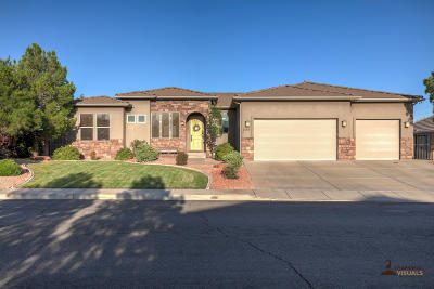 Ivins Single Family Home For Sale: 1159 S 375 E