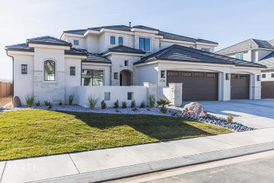 St George Single Family Home For Sale: 2530 S Monterosa Lane