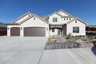 St George Single Family Home For Sale: 1804 S 2840 E