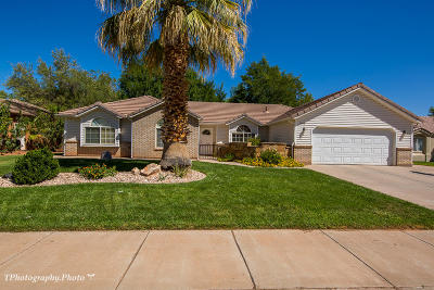 St George Single Family Home For Sale: 1918 Lava Flow Dr