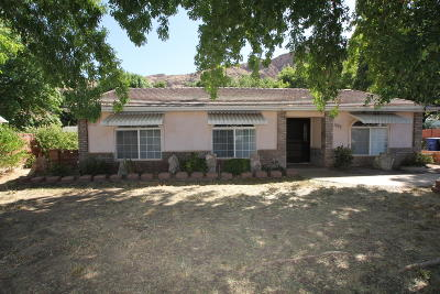 Hurricane  Single Family Home For Sale: 1079 S 180 W