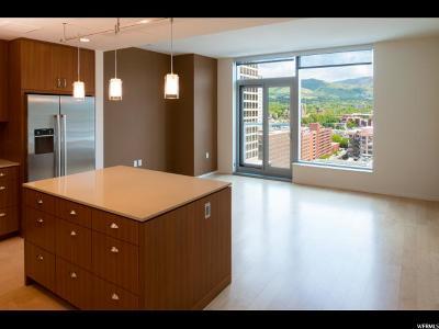 Salt Lake City Condo For Sale: 35 E 100 S #1504