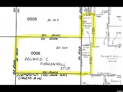 Richmond Residential Lots & Land For Sale: 9300 N 200 E