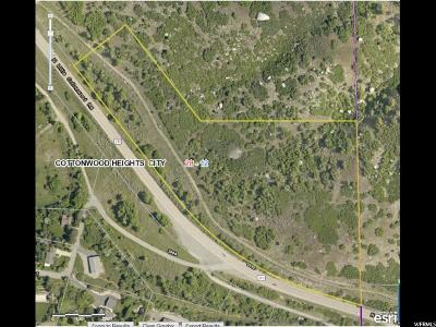 Cottonwood Heights Residential Lots & Land For Sale: 3801 E North Little Cottonwood Rd S