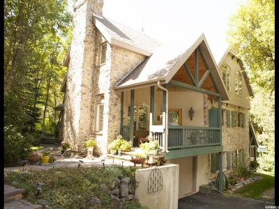 Springville Single Family Home For Sale: 3876 S Grindstone Dr