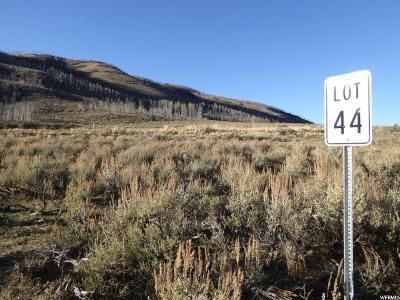 Carbon County Residential Lots & Land Under Contract: 44 E Lot 44 St N