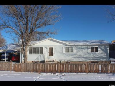 Single Family Home For Sale: 120 S 100 E