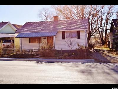 Helper UT Single Family Home For Sale: $55,000