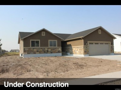 Tremonton Single Family Home For Sale: 875 W 225 S