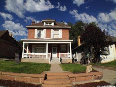 Ogden Single Family Home For Sale: 2627 S Jefferson