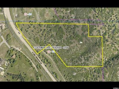 Cottonwood Heights Residential Lots & Land For Sale: 9361 S North Little Cottonwood Rd E