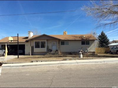 Orangeville Single Family Home For Sale: 250 N 400 W