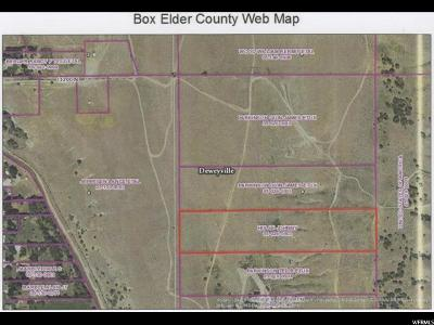 Deweyville UT Residential Lots & Land For Sale: $15,000