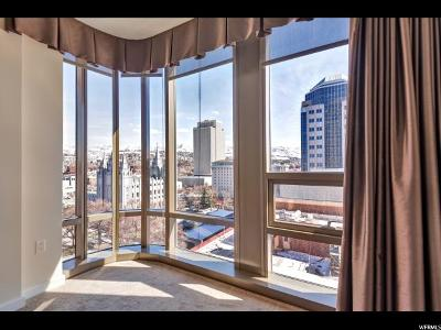 Salt Lake City Condo For Sale: 99 W South Temple St #1401