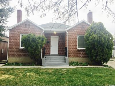 Tremonton Single Family Home For Sale: 115 N Tremont St