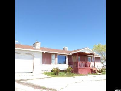 Wellington UT Single Family Home For Sale: $141,000