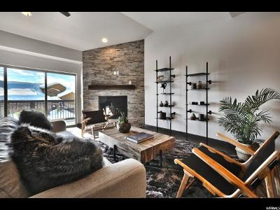 Wasatch County Condo For Sale: 1144 W Cadence Ct #47D