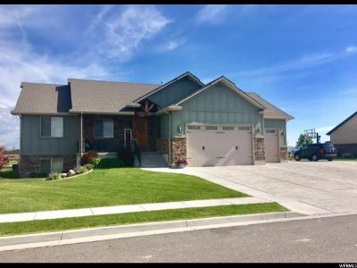 Tremonton Single Family Home For Sale: 599 E 100 N