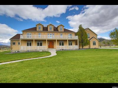 Eagle Mountain Single Family Home For Sale: 2966 W Fort Hill Rd