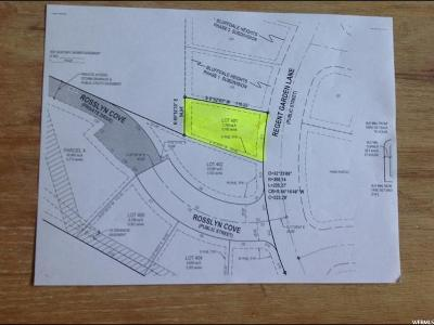 Bluffdale Residential Lots & Land For Sale: 638 Regent Garden Ln