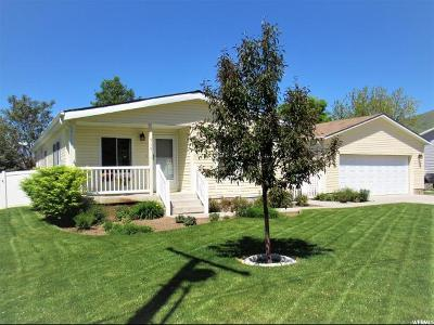 Perry Single Family Home For Sale: 570 W 2400 S