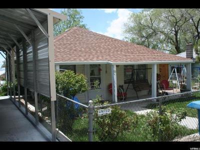 Kenilworth UT Single Family Home For Sale: $75,000