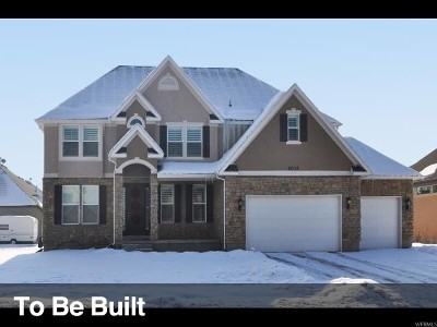 West Valley City Single Family Home For Sale: 6513 W Sunrise Acres Cir