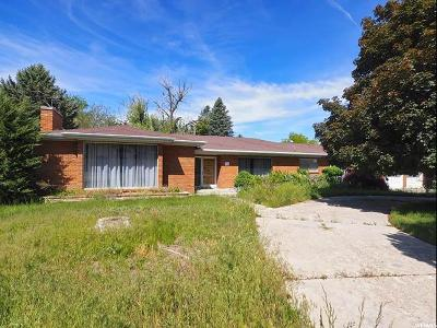 Holladay Single Family Home For Sale: 2188 E Pheasant Way S