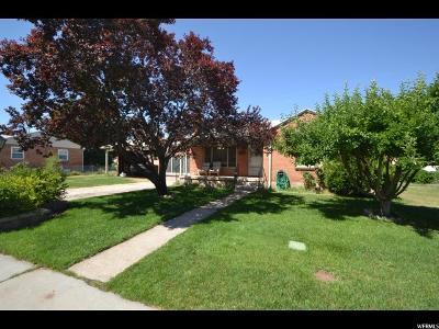 Orem Single Family Home For Sale: 865 N Memo Dr