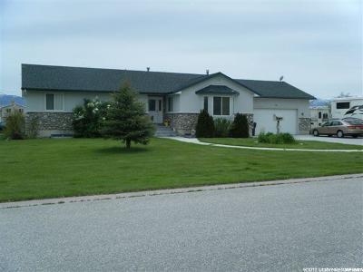 Grantsville Single Family Home For Sale: 86 N Trackside Cir