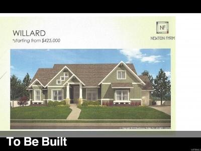 West Valley City Single Family Home For Sale: 3702 S Rowan Cv #128