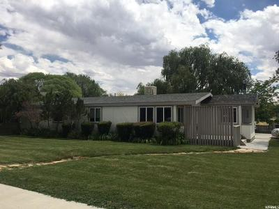 Ferron UT Single Family Home For Sale: $110,000