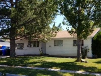 Tremonton Single Family Home For Sale: 831 S 100 W