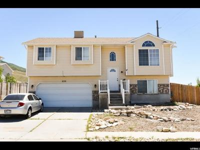 Tooele Single Family Home For Sale: 893 W 660 S