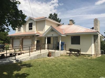 Preston Single Family Home For Sale: 507 E Oneida
