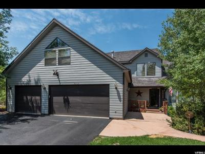 Park City Single Family Home For Sale: 8829 N Lone Pine Ct