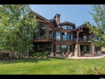 Park City Single Family Home For Sale: 7698 Glenwild Dr