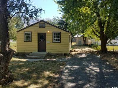 Brigham City Single Family Home For Sale: 556 N 300 W